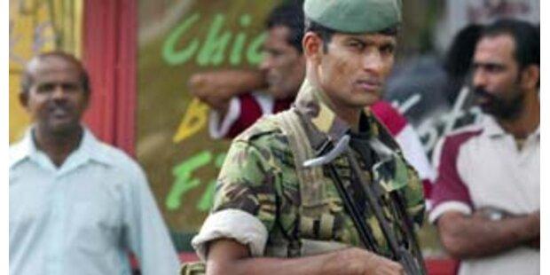 29 Tote bei anhaltenden Gefechten in Sri Lanka