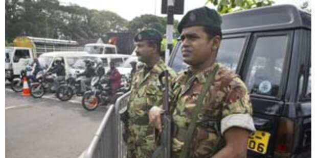 Sri Lanka will Vernichtungsschlag gegen Rebellen