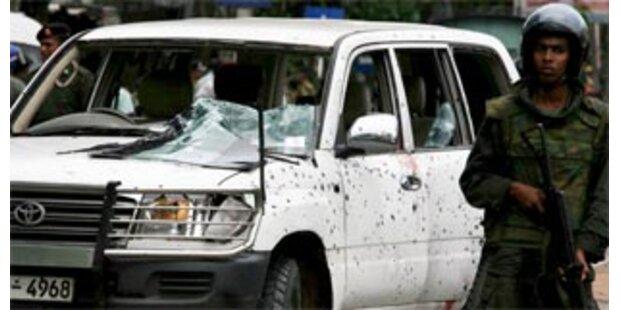 23 Tote bei Anschlag auf Schulbus in Sri Lanka