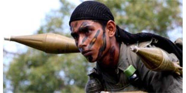 Mehr als 140 Tote bei Gefechten in Sri Lanka