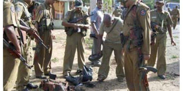 Dutzende Tote bei Kämpfen in Sri Lanka
