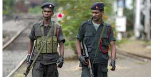 147 Tote bei Kämpfen in Sri Lanka