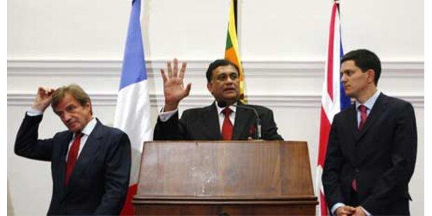 Keine Waffenruhe in Sri Lanka