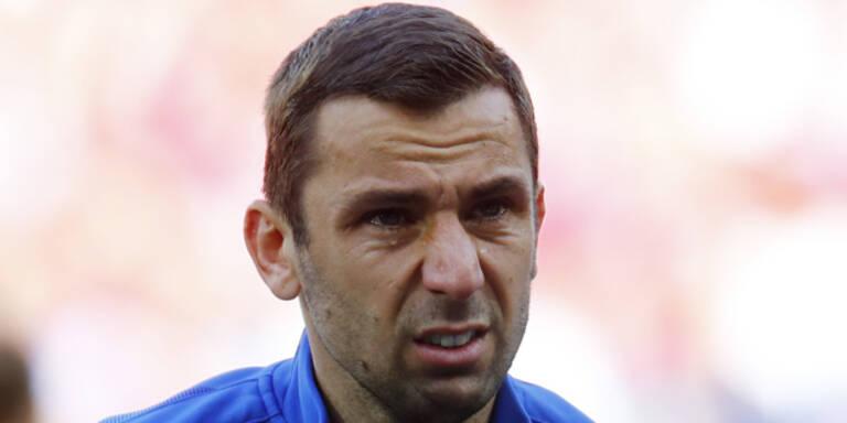 Kroatien-Kapitän weint um seinen Vater