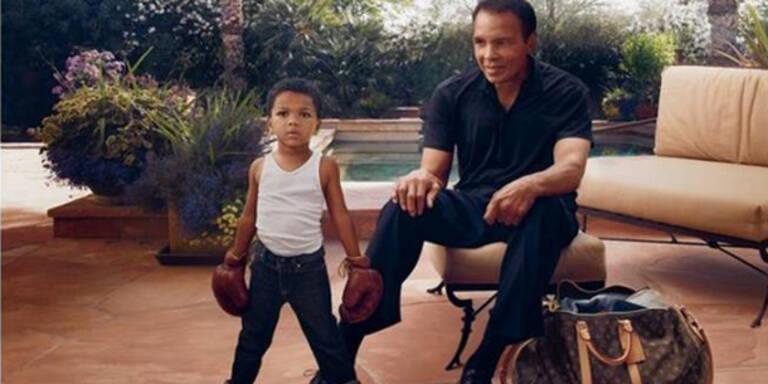 Muhammad Ali als Model für Louis Vuitton