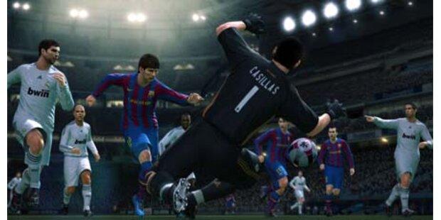 Pro Evolution Soccer 2010 startet