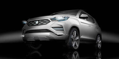 Ssangyong greift mit Luxus-SUV an