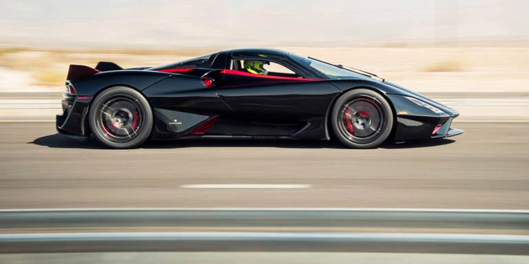 Das ist das schnellste Straßenauto der Welt