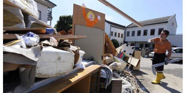 Überflutetes Kinderhaus ist übersiedelt