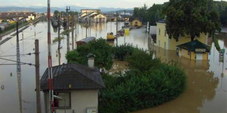 hochwasser, überflutungen