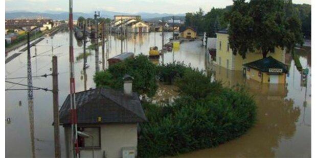 St. Pölten: 10 Mio. Hochwasserschäden