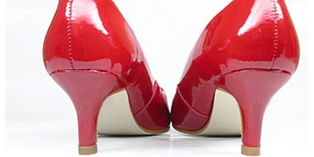 Greller Lippenstift und hohe Stöckel verboten