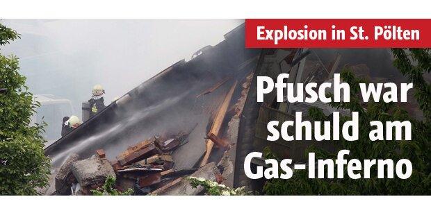 Pfusch war schuld am Gas-Inferno