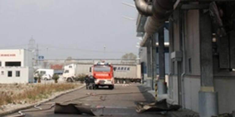 St. Pölten: Explosion auf Firmengelände