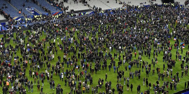 Paris: Attentäter wollten unbedingt ins Stadion