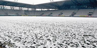 Stadion Schnee Eis