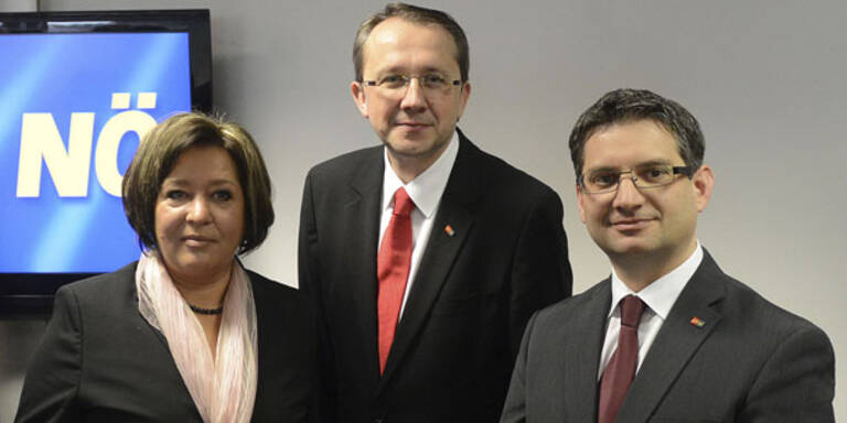 Stadler präsentiert neues SPÖ-Team
