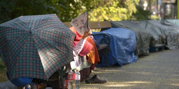 Obdachloser stirbt im Wiener Stadtpark