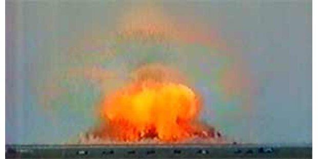 Russland testet stärkste nichtnukleare Bombe