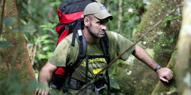 Brite wanderte gesamten Amazonas ab