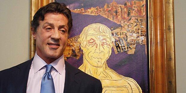 Stallone präsentiert seine Gemälde