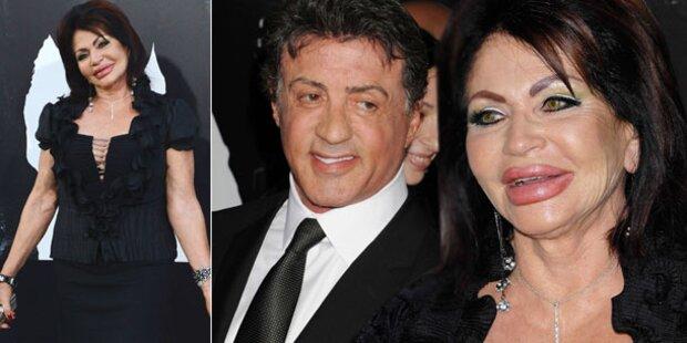 Stallones Mama mutiert zum Botox-Monster