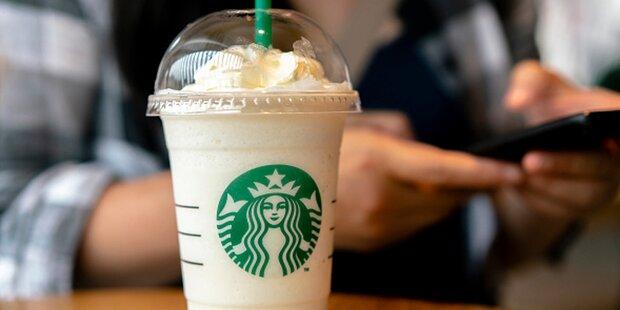 Keine Strohhalme mehr bei Starbucks