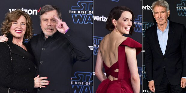 'Star Wars'-Premiere: Glamour am blauen Teppich