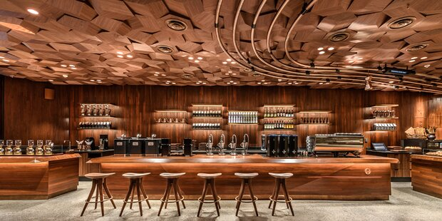 Der größte Starbucks der Welt eröffnet