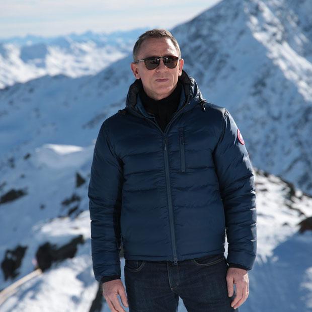 """Bond""-Dreh in Sölden"