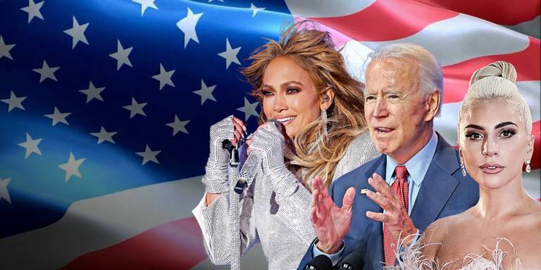 Mega-Stars bei Biden-Angelobung