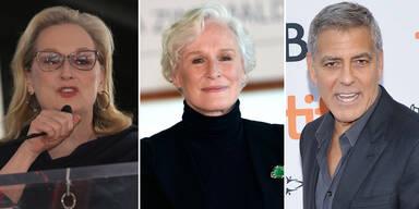 Meryl Streep, Glenn Close, George Clooney