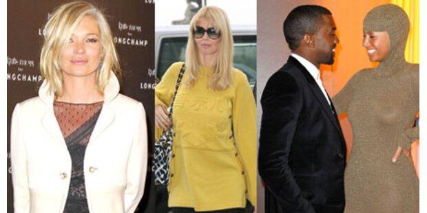 Die Stars auf der Pariser Fashion Week