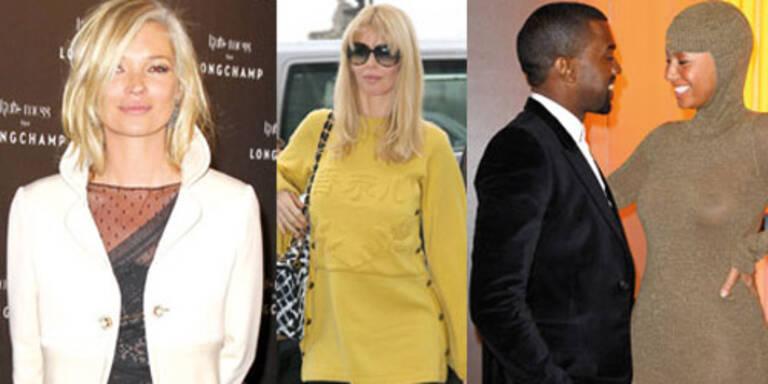 Die Stars bei den Haute Couture Schauen in Paris