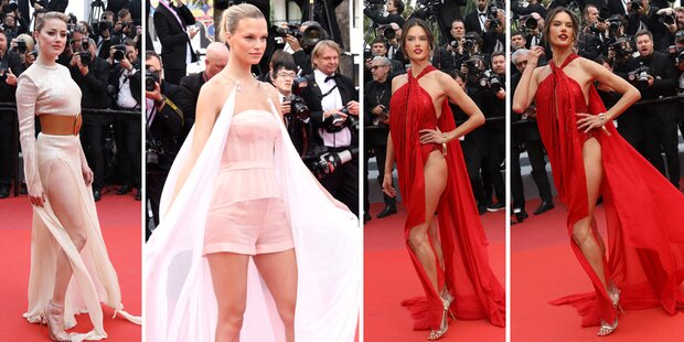 Cannes: Stars supersexy am Red Carpet