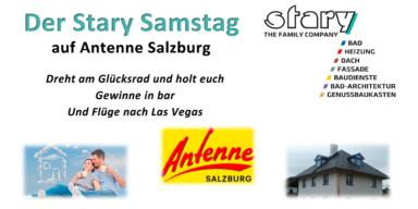 Der Stary Samstag auf Antenne Salzburg