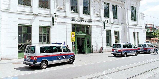 Dealer verkriechen sich vor der Polizei