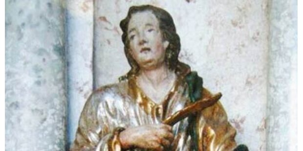 Sieben Statuen aus Kirche gestohlen