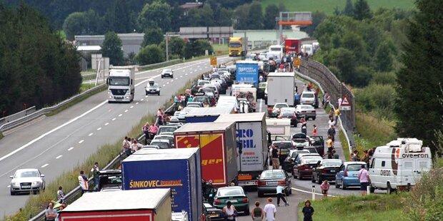 Autobahnabfahrten werden gesperrt