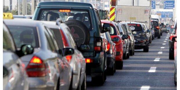 Autobahnen werden am Wochenende voll