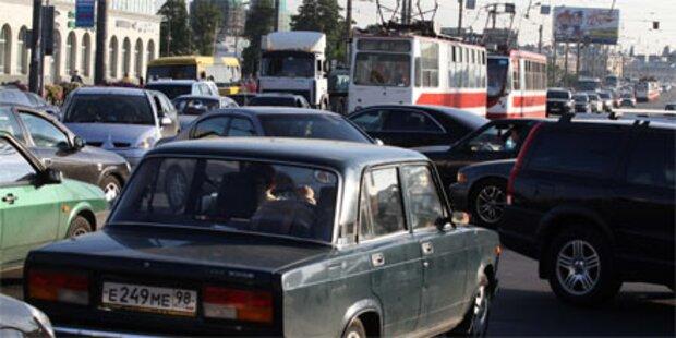 Stromausfall lähmte St. Petersburg