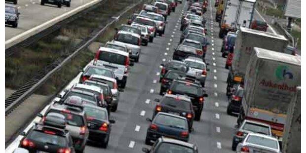 Um 33% mehr Staus im Reiseverkehr
