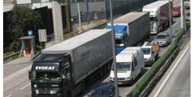 Verkehrschaos bei LKW-Protest blieb aus