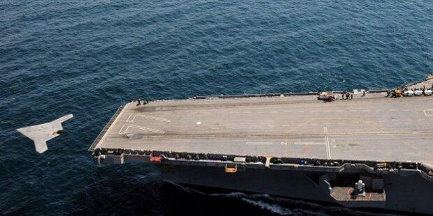 USA gelingt Durchbruch mit Stealth-Drohne