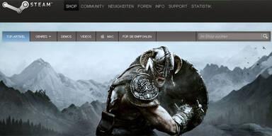"""Hackerangriff auf Spieleplattform """"Steam"""""""
