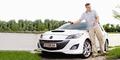 Dorian Steidl trifft den Mazda 3 MPS