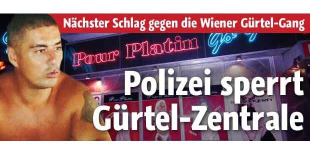 Polizei sperrt Gürtel-Zentrale