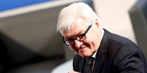 Merkel und Seehofer werben für Steinmeier