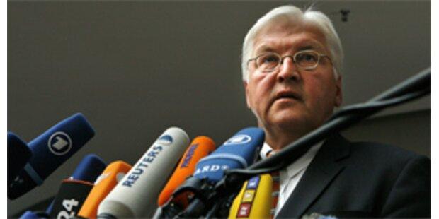 Steinmeier fordert von Lawrow Waffenstillstand