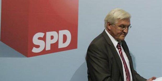 SPD-Steinmeier zieht sich zurück